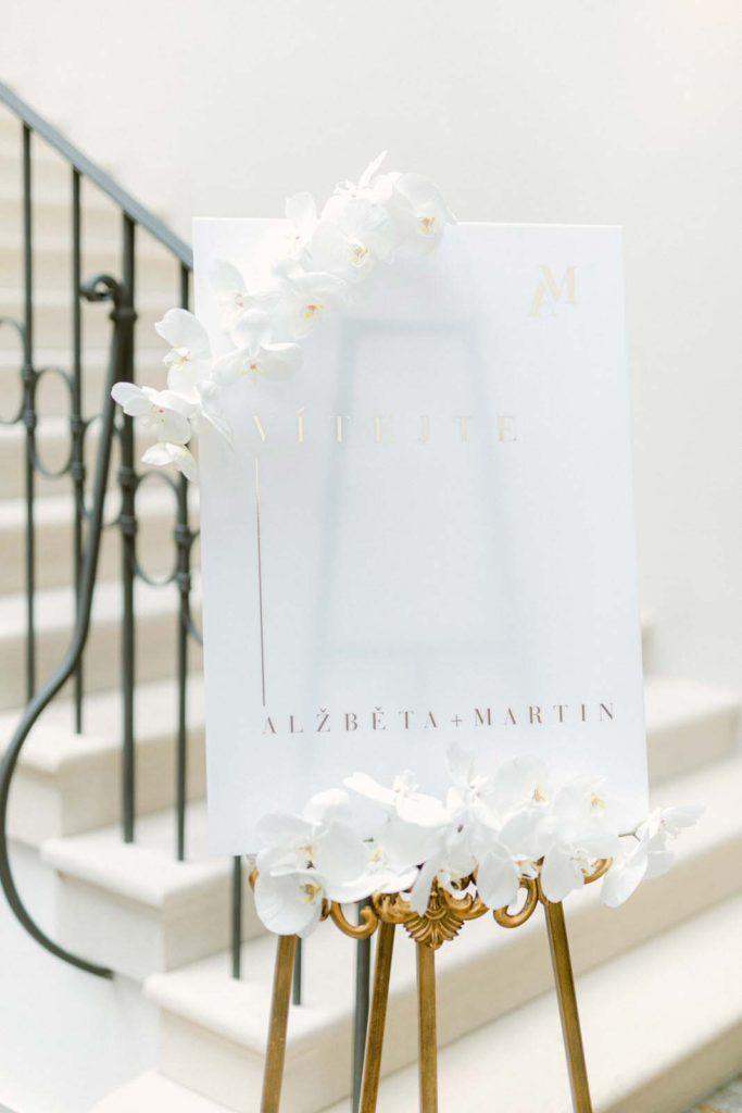 Svatba v zimě na zámku CLARA FUTURA, Svatební agentura Sweet & Chic